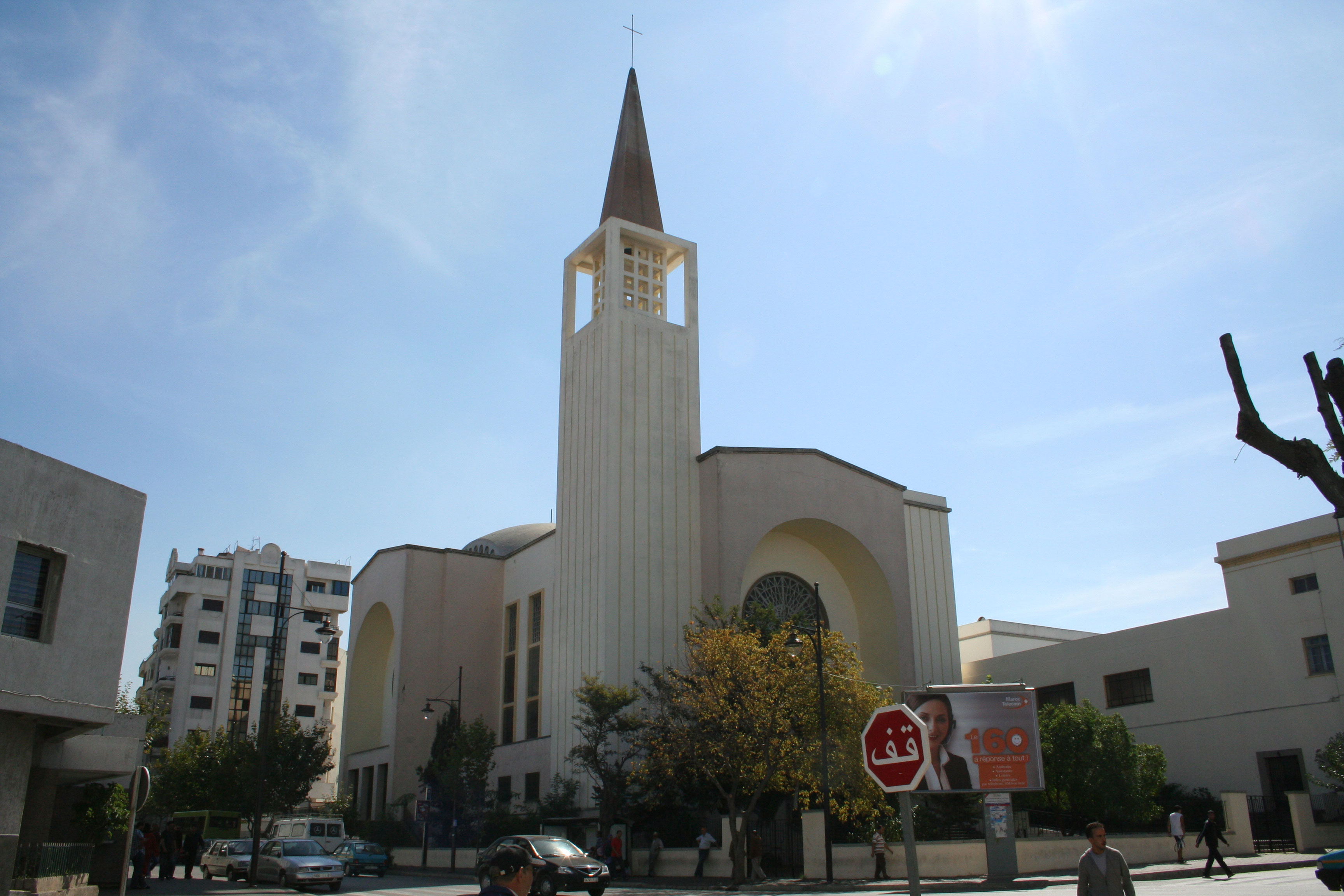 the cathedral in tangier